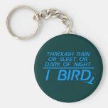 I pájaro llavero personalizado