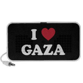 I palestino de Gaza del corazón Altavoz De Viaje