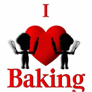 I panaderos de la hornada del corazón fotoescultura vertical