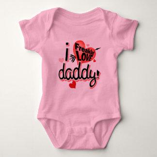 ¡I papá del amor de Freakin! Body Para Bebé