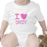 I papá del corazón (amor) trajes de bebé