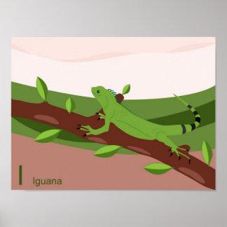 I para el poster de la iguana