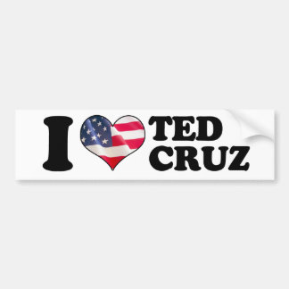 I parachoque de Ted Cruz del corazón - .png Pegatina Para Auto