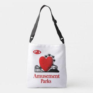I parques de atracciones del corazón bolsa cruzada