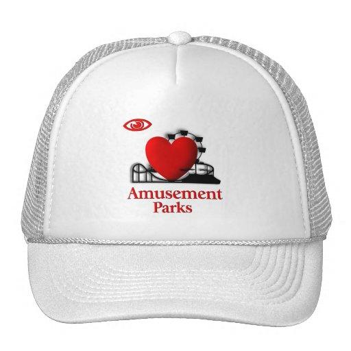 I parques de atracciones del corazón gorras de camionero