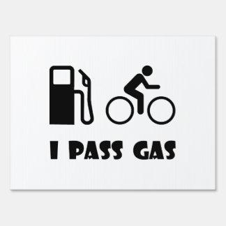 I Pass Gas Yard Sign