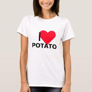 I patata del corazón playera