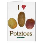 I patatas del corazón felicitacion