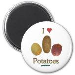 I patatas del corazón imán