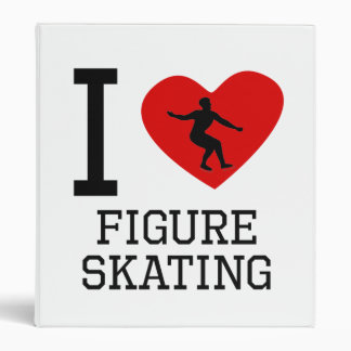 I patinaje artístico el corazón