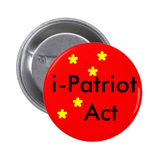 i Patriot Act 2 Inch Round Button