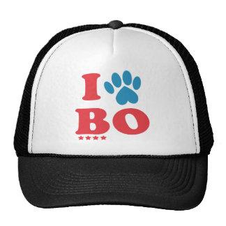 I Paw BO Trucker Hat