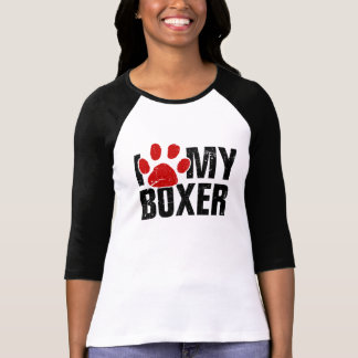 I Paw My Boxer T-Shirt