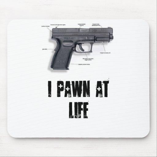 i pawn at life mouse pad