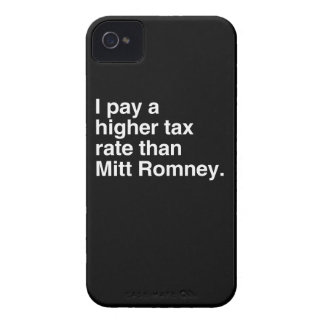 I pay a higher tax rate than Mitt Romney.png Blackberry Bold Covers