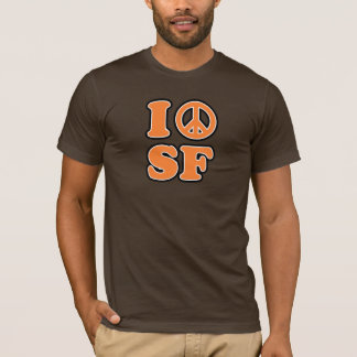 I Peace San Fransisco T-Shirt