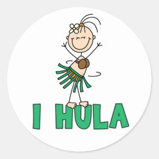 I pegatina de Hula