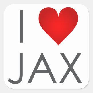 I pegatina de Jax del corazón