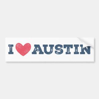 I pegatina para el parachoques de Austin Tejas del Pegatina Para Auto