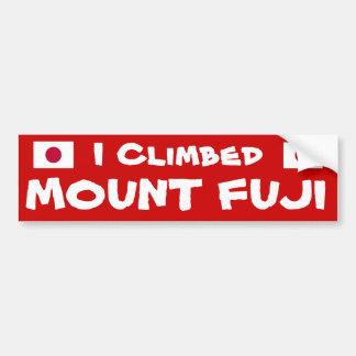 I pegatina para el parachoques de Climbed* el Pegatina Para Auto