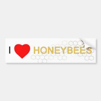 I pegatina para el parachoques de las abejas del pegatina para auto