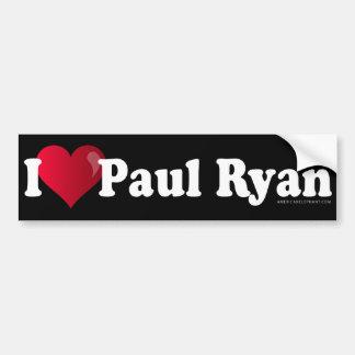 I pegatina para el parachoques de Paul Ryan del co Pegatina Para Auto