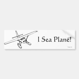 I pegatina para el parachoques del avión de mar (B Pegatina Para Auto