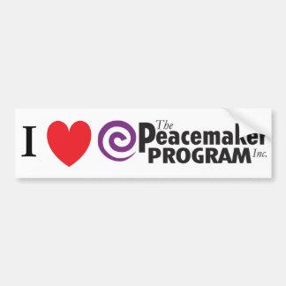 I pegatina para el parachoques del PMP del corazón Pegatina Para Auto