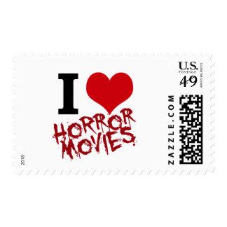 I películas de terror del corazón estampillas