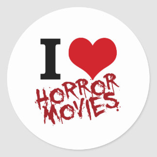 I películas de terror del corazón pegatinas