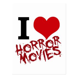 I películas de terror del corazón postales