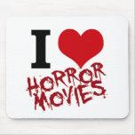 I películas de terror del corazón alfombrillas de ratones