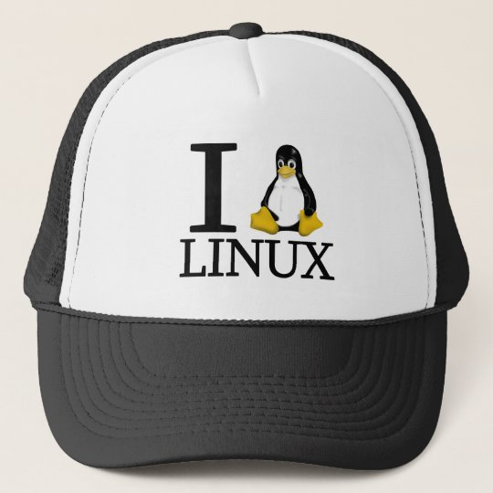I Penguin Linux 2 Trucker Hat