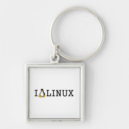 I Penguin Linux Keychains