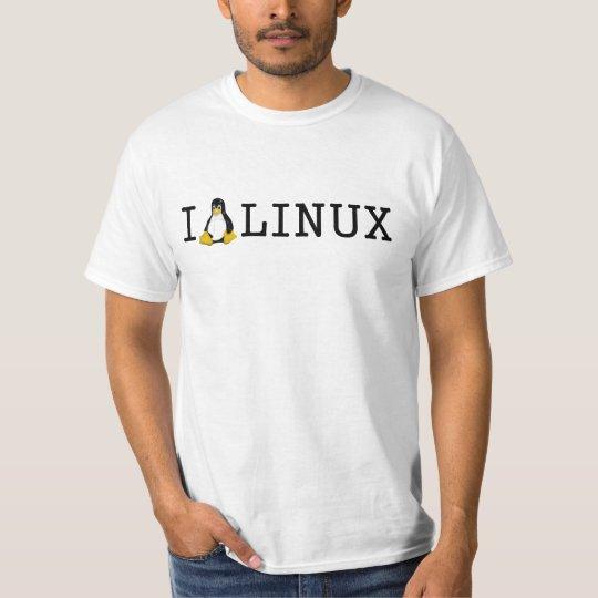 I Penguin Linux T-Shirt