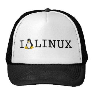 I Penguin Linux Trucker Hat