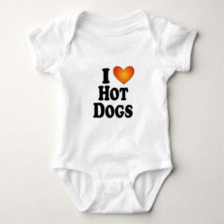 I perritos calientes (del corazón) - camisetas de playeras