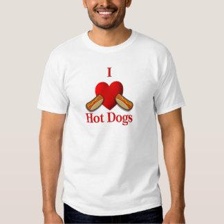 I perritos calientes del corazón poleras