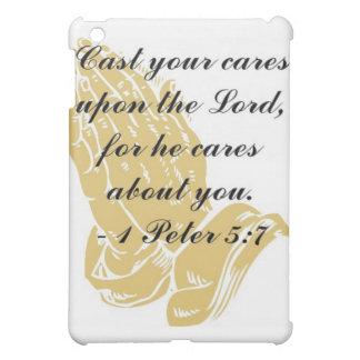 I Peter 5:7 iPad Shell iPad Mini Covers