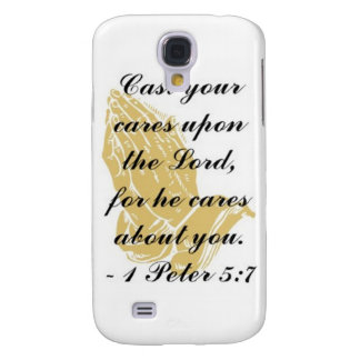 I Peter 5:7 iPhone 3 Shell Galaxy S4 Case