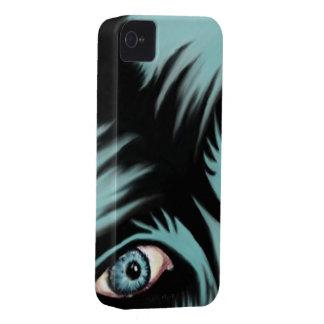 I Phone 4 Blue Monster Case