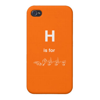 i phone 4 case - H is for HOLLA
