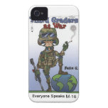 I Phone 4 case Third Graders At War Case-Mate iPhone 4 Case