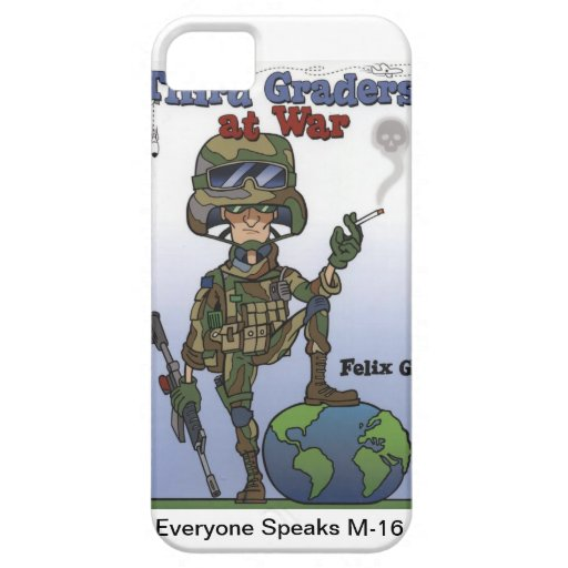 I Phone 4 case Third Graders At War iPhone 5 Cover