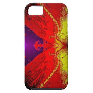 I phone 4 Hard case, Artsy Wave iPhone SE/5/5s Case