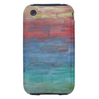I Phone 4s case - Sunset Over Lake Tough iPhone 3 Covers