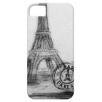i-phone 5 case Vintage drawing Paris iPhone 5 Cases