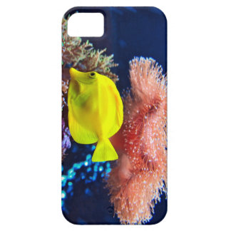 """i-Phone 5 Case """"Yellownose Butterfly Fish"""" iPhone 5 Covers"""