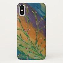 I Phone 8/7 Casing, , purple,orange iPhone X Case