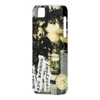 "i-phone case ""hearts are broken every day"""